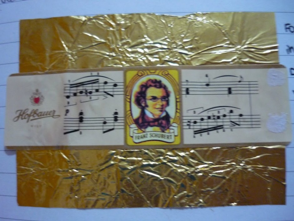 Edible Schubert, anyone?