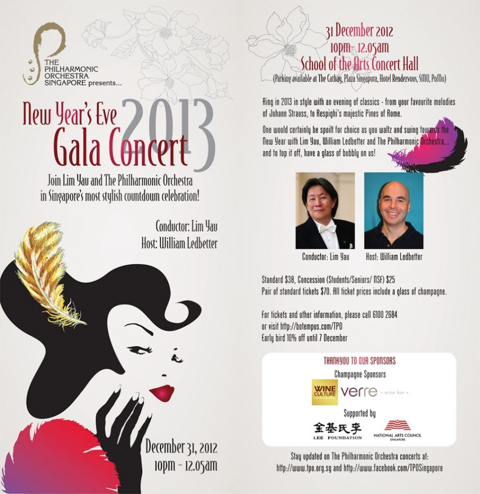 The Philharmonic Orchestra – New Year's Eve Gala Concert 2013