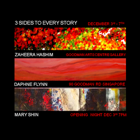 3 Sides to Every Story – an Art exhibition