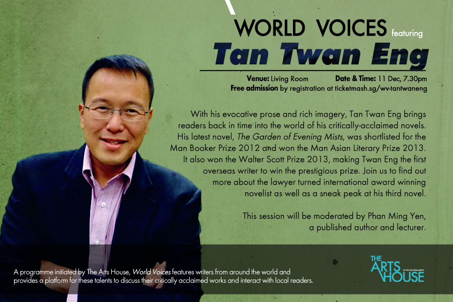 Word Voices featuring Tan Twan Eng – An Advertisment
