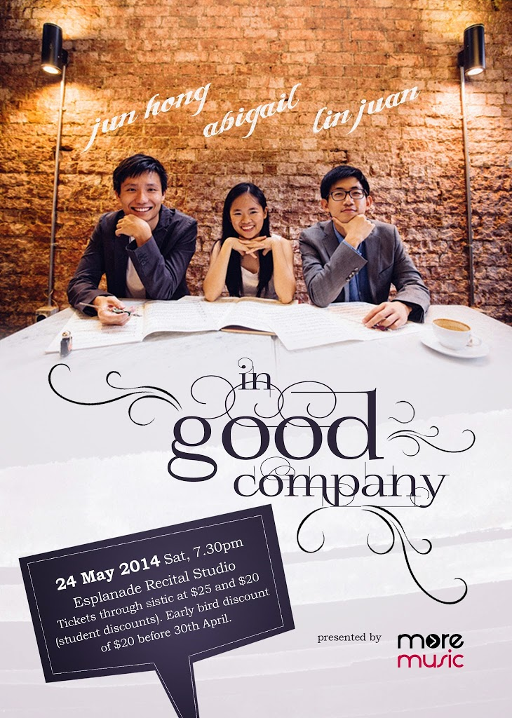 More than Music Presents: In Good Company – An Advertisment