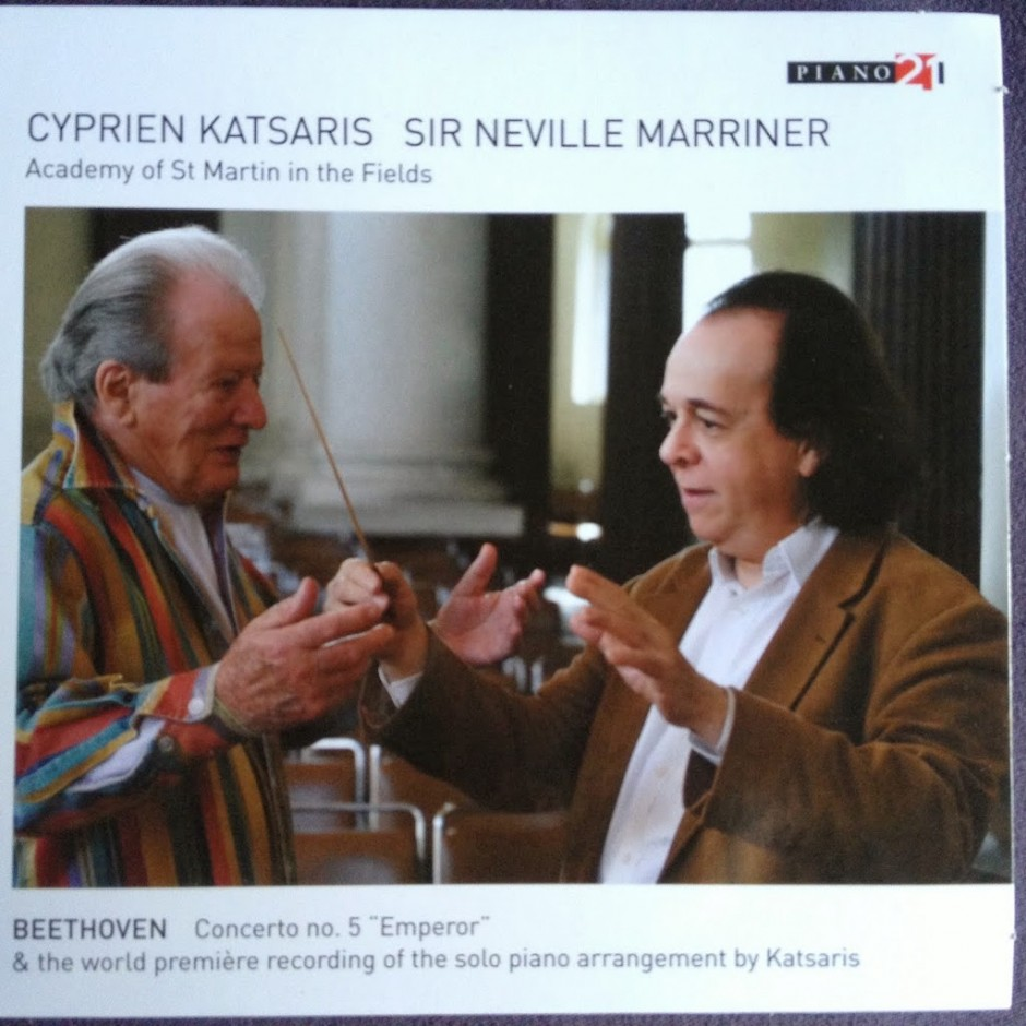 Beethoven/Katsaris Concerto no. 5, 'Emperor' – CD Review