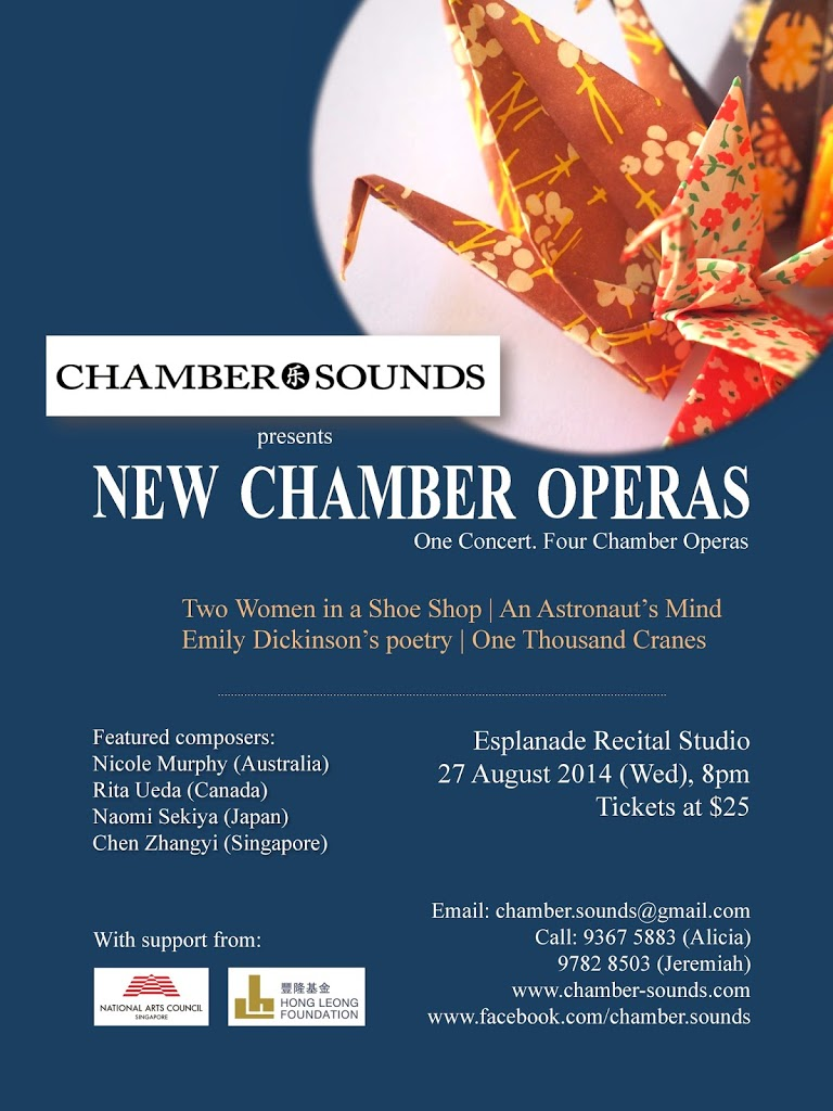 Chamber.Sounds presents: New Chamber Operas – An Advertisment